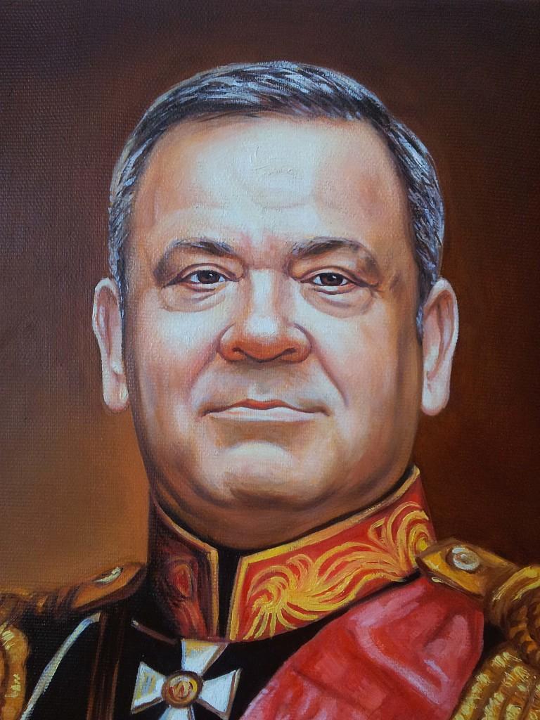 Портрет маслом на холсте в Орле