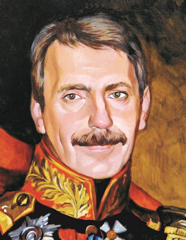 портрет маслом по фото Орёл