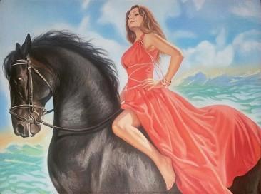 Настоящий портрет маслом на холсте в Орле…
