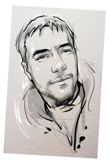 Портрет карандашом любимому мужу в Орле…