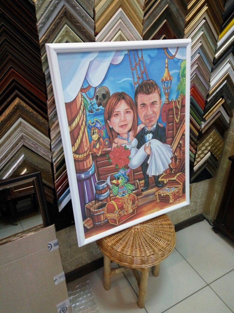 портрет шарж на заказ в Орле