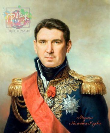 Портрет по фото на холсте мужчине в Орле