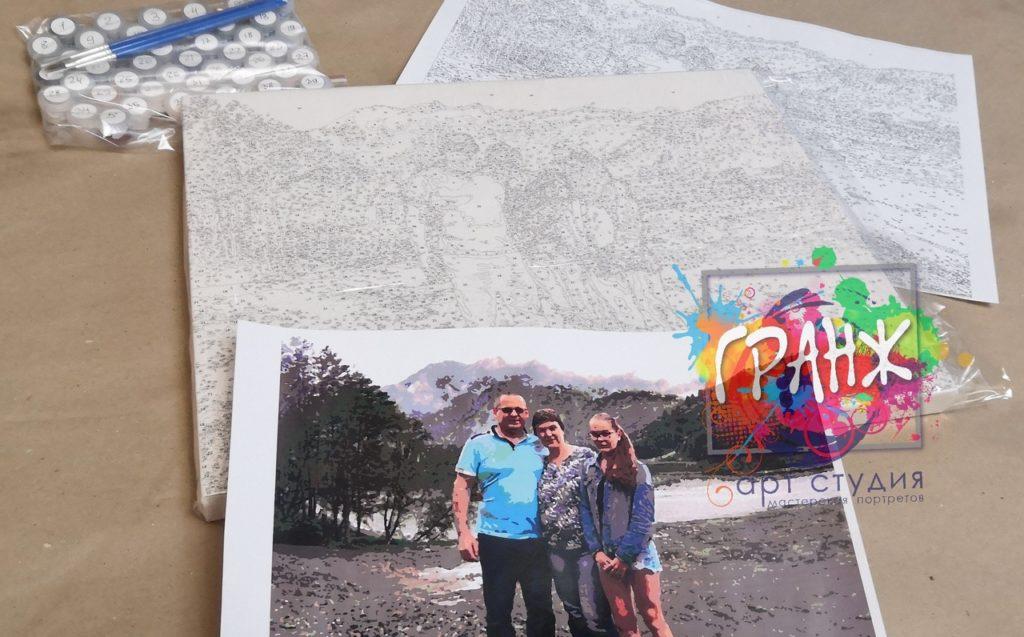 картин по номерам на холсте по фото в Орле