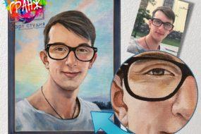 Портретная живопись маслом, купить в Орле